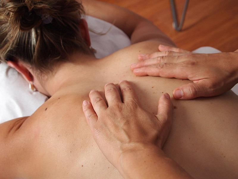 Woman receiving Aromatherapy treatment